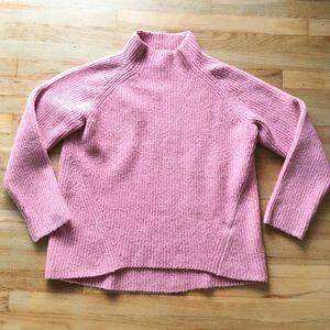 Madewell Mauve Winter Sweater